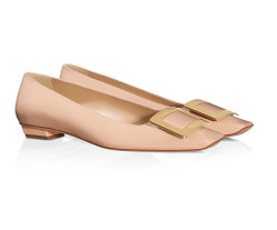 Roger Vivier Belle Vivier Ballerinas in Patent Leather