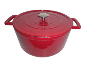 Threshold Cast Iron Dutch Oven - 6 qt