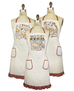 State Aprons from Cat Studios found at Uncommon Goods