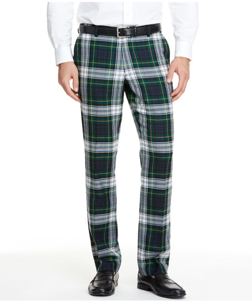Vineyard Vines Tartan Breaker Pants